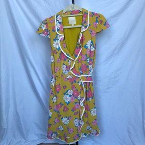 ModCloth vintage floral wrap dress